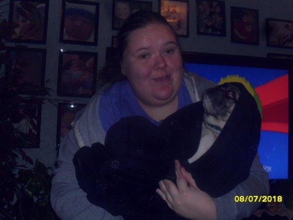 moi et puppy