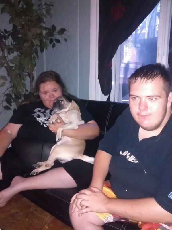 moi,puppy et mon petit frere