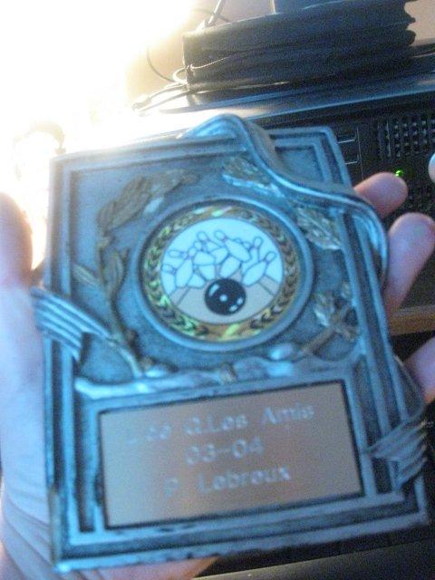 mon trophée