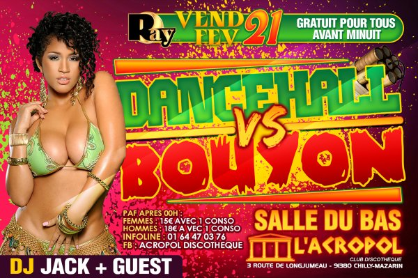 • DANCEHALL VS BOUYON • & • BE BELA PARTY •