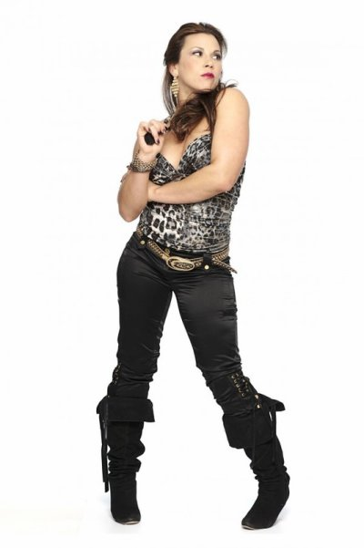 Photo de mickie james à la TNA