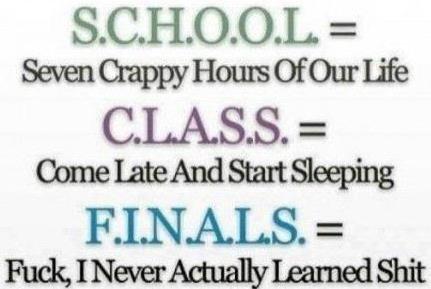 L'école !!