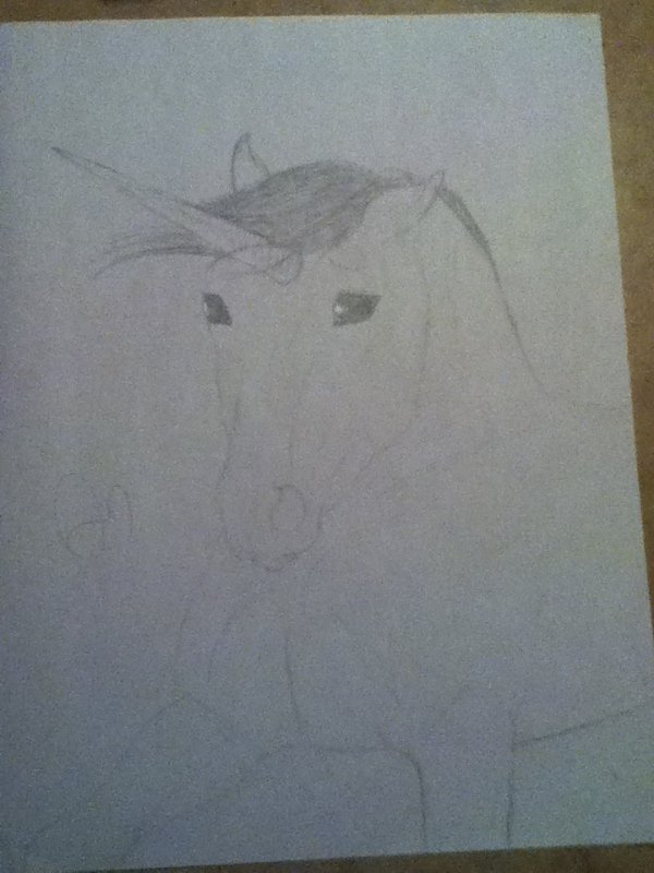 Dessin que mon amie ma dessiner ...