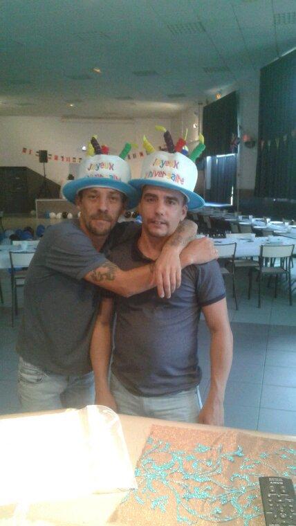L anniversaire des jumeaux