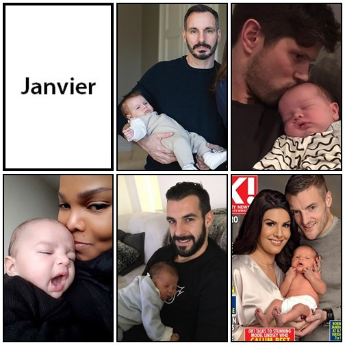 Les bébés de l'année 2017 - P1