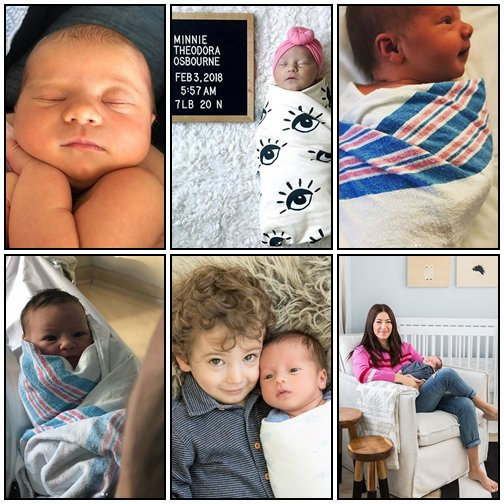 Les bébés de l'année 2018 - P1