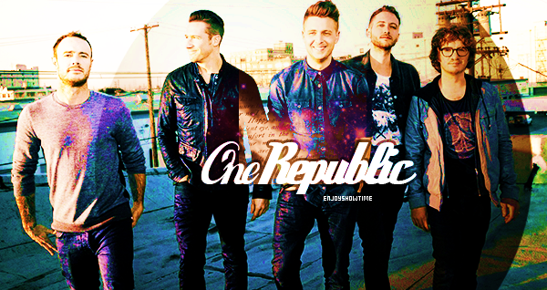 MUSIC: ♡ OneRepublic Découvrez & devenez fan de OneRepublic  «I had a dream the other night about how we only get one life.» Création: AndShinning ♥