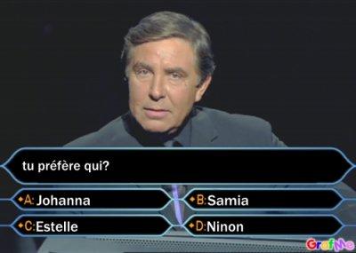 tu préfère qui?