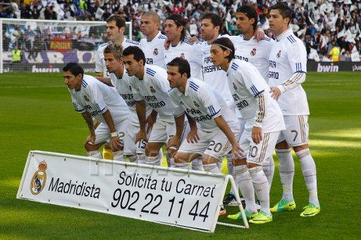 real madrid vs osasuna le 6 /11/2011