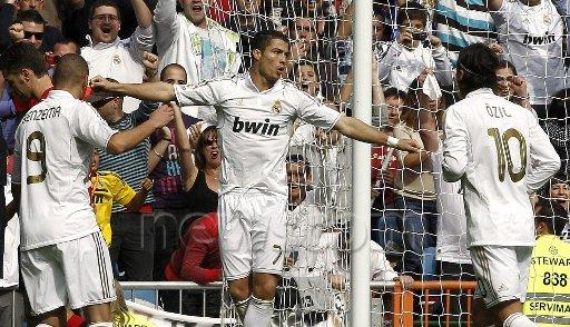 ronaldo vs osasuna le 06 / 11 / 2011