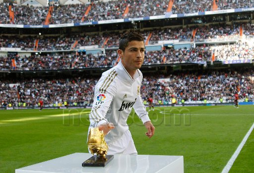ronaldo vs osasuna le 06/11/2011