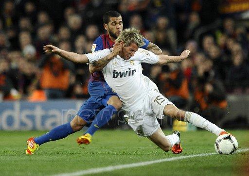 real madrid vs barcelona le 25/01/2012