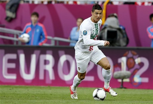 portugual vs denmark  3:2  =======  euro 2012  c.ronaldo vs denmark