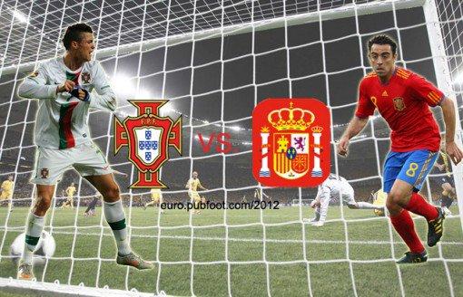 portugal 0 : 0 spain  ( 2-4 apk ) 27 / 06 / 2012  euro 2012