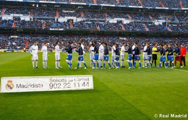 real madrid 4 : 3 Real Sociedad le 06/01/2013