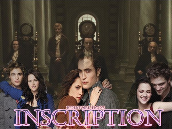 Inscriptions !