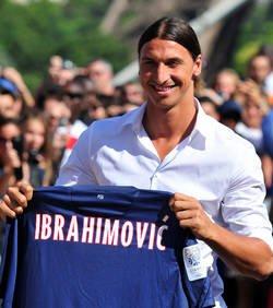Ibrahimovic arrive mardi au PSG
