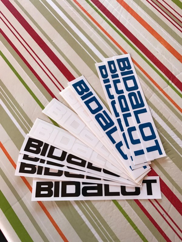 Stickers Bidalot