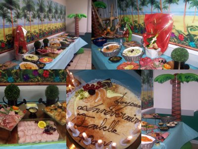 MES 40 ANS SOIREE TROPICALE