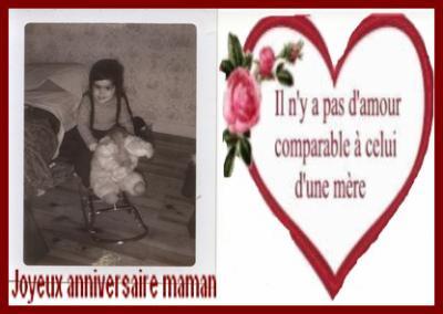 Joyeux Anniversaire Maman Ma Tribu Mes Ecrits Mes Plaisirs