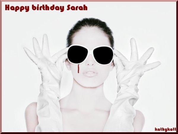 Joyeux Anniversaire Sarah Ma Tribu Mes Ecrits