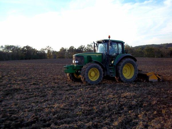 Préparation pour le semis