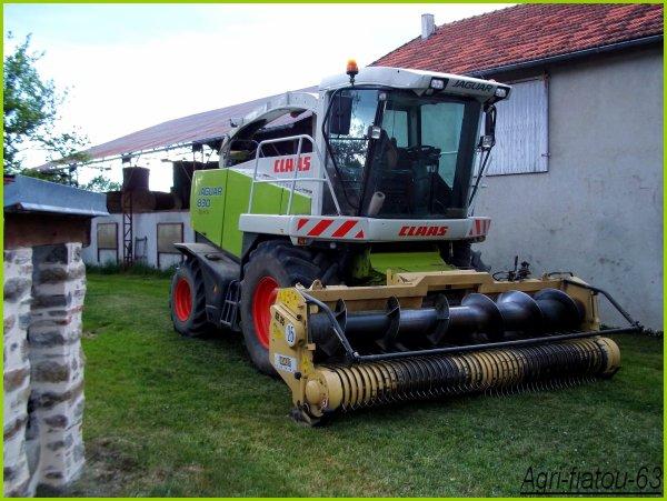 Ensillage d'herbe chez moi 2011