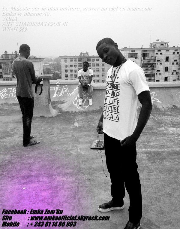 Je suis un rappeur africain/congolais/kinshasa