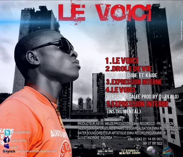 "Pochette CD.2 + Track List "" LE VOICI"".jpg"