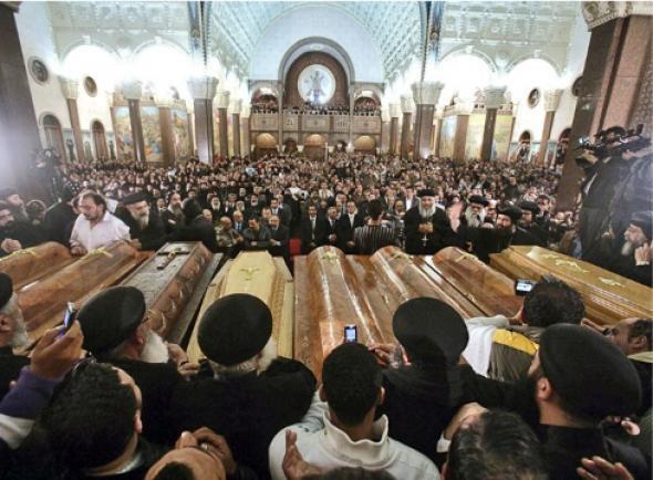 Egypte : tuerie de chrétiens à la sortie de la messe de Noël