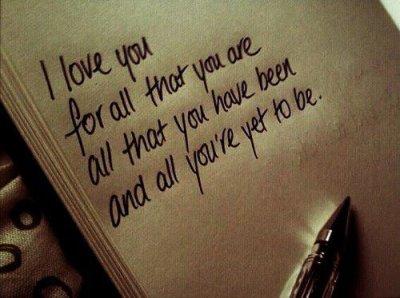 love love love, and love again..