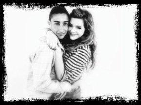 Caroline  et son copain ;-)