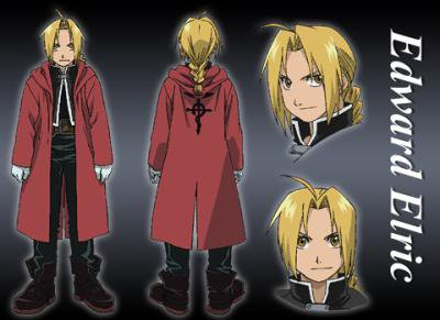 description d'edward elric