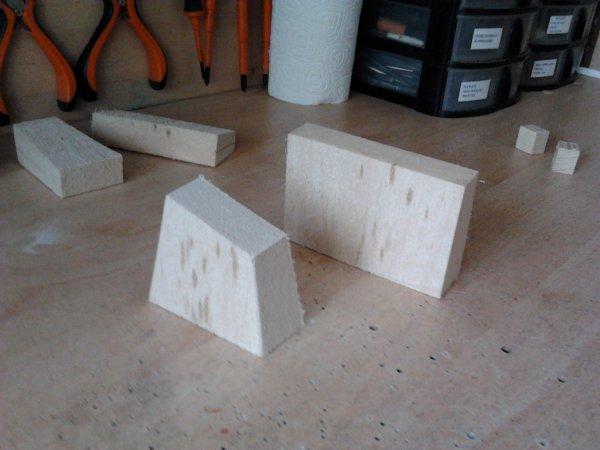 cheminees blocs de pousses et refroidisseurs