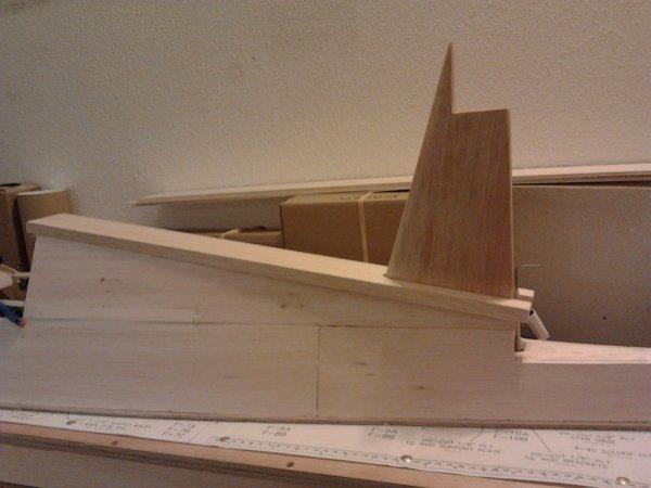 couverture du haut fuselage