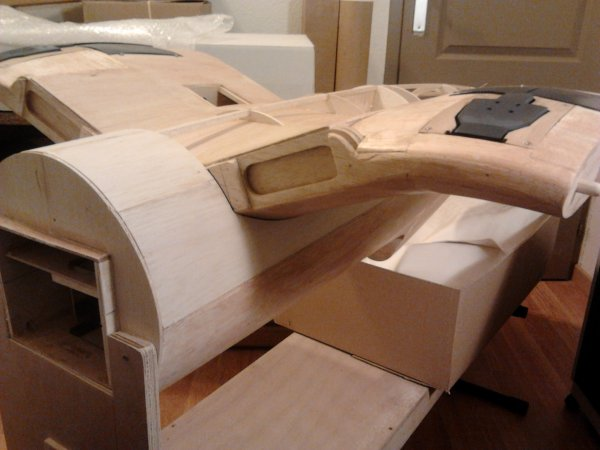 coffrage avant du fuselage