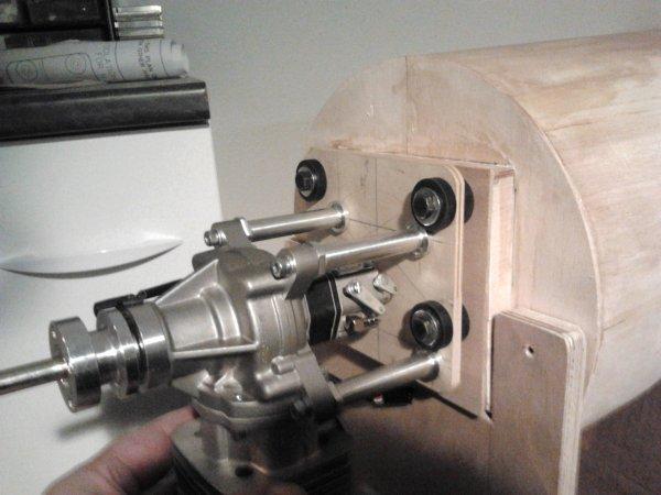 preparation des plaques support moteur