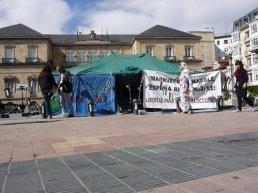 Jaima por la dignidad en Vitoria Gasteiz