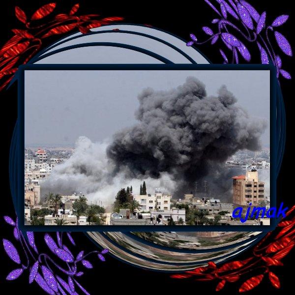 """Dans Gaza : """"Il n'y a plus un seul centimètre carré où l'on se sent en sécurité"""""""