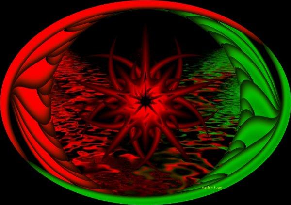 le rouge est vert