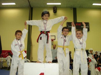 club taekwondo lyon 8