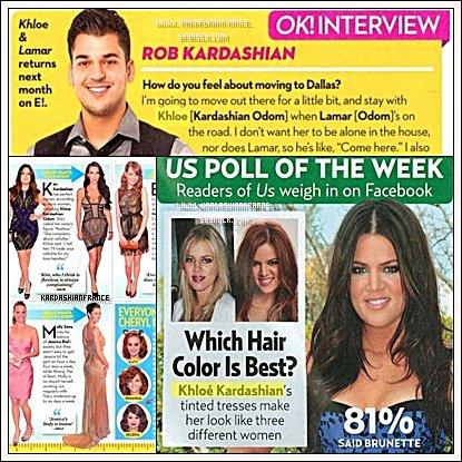 """Khloe s'exprime à propos de """"Kardashian Kolor"""" et de """"Kardashian Kollection""""."""