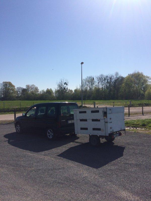 Petite entraînement 55km avant Bourges de ce week-end 230 km