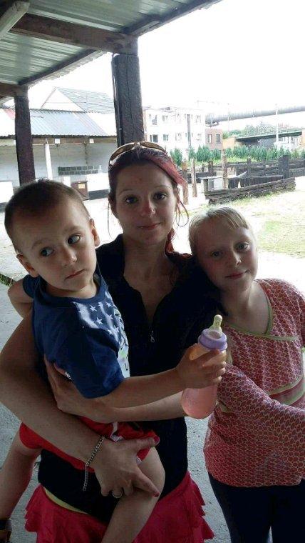 Mes trois filles et mon petit fils