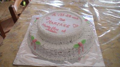 Gâteau Anniversaire De Mariage Gateaux Antillais