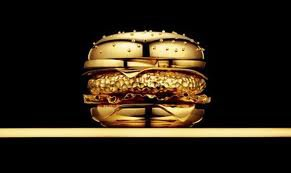 un hamburger a 666 dollard