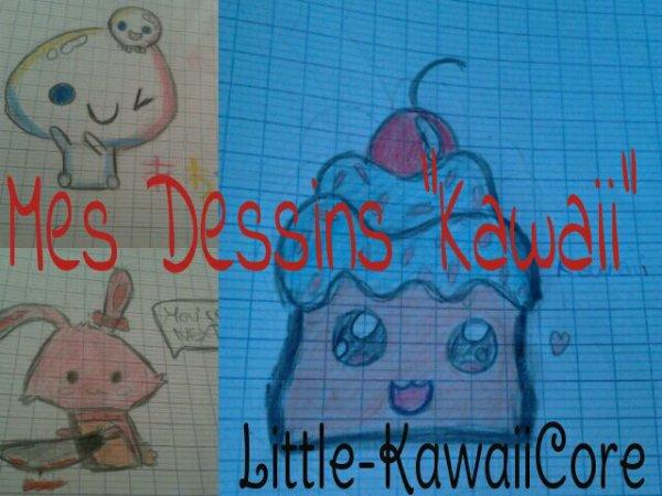 "~ Mes dessins ""Kawaii"" ~"