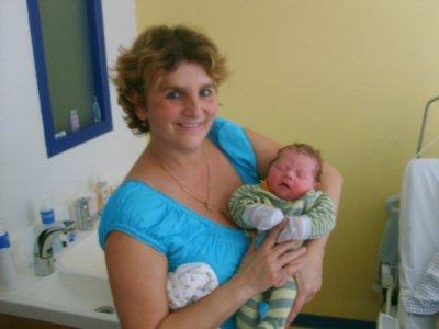a la maternité
