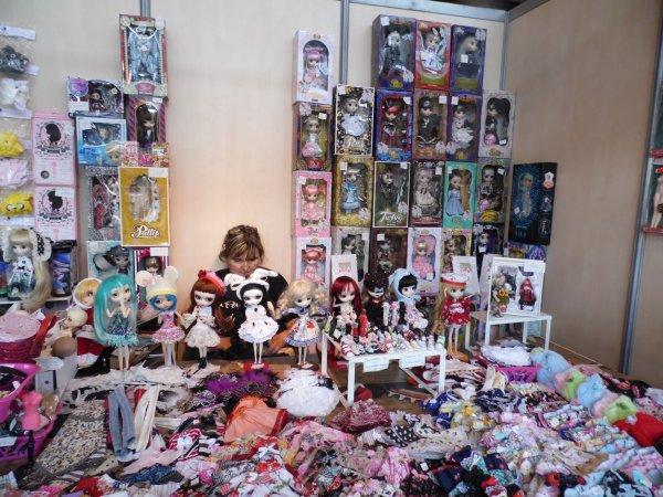 Japan Expo Les Stands : Les stands de pullips à japan expo !♥ ♥