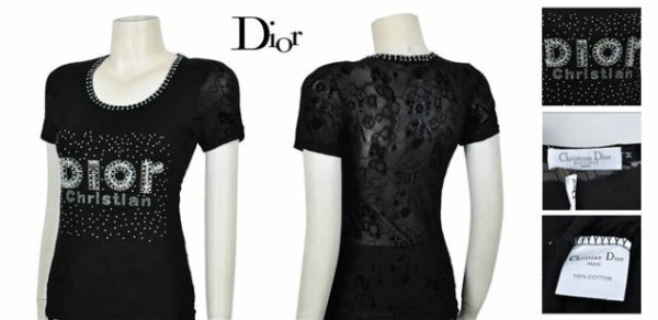 T-shirt Dior Femme - Blog de LevidegrenierdeNat b5fd0dc3e1f0